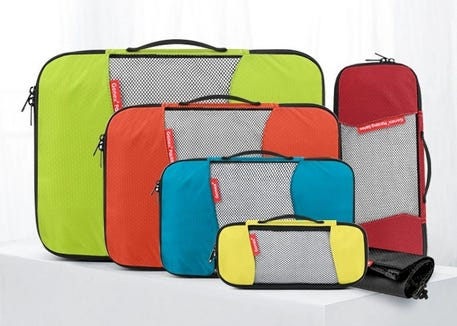 Gonex compression packing cubes can help you ease the travel stress.