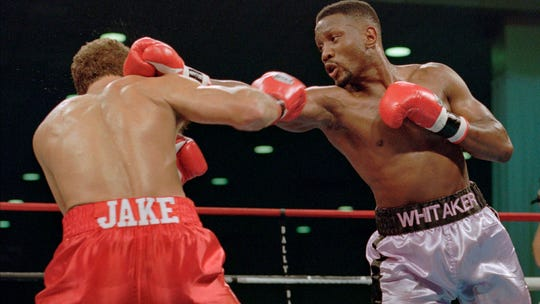 Late Pernell 'Sweet Pea' Whitaker left strong impression with participation in charity basketball game