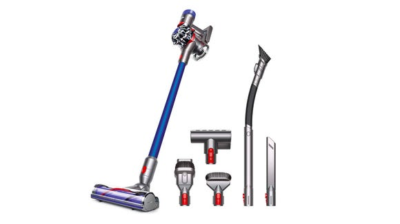 The Dyson V7 Animalpro+ is a lightweight vac with impressive suction power.