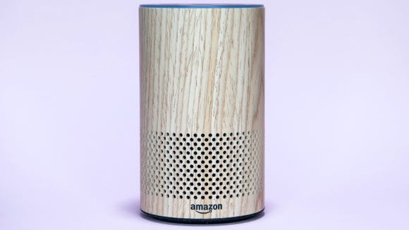 The Amazon Echo can make calls, play music, and more.