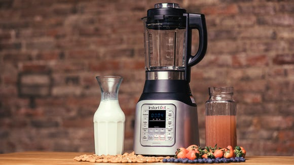 The Ace Blender has a built-in heating element to cook while it blends.