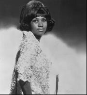 Singer Aretha Franklin in an undated file photo.