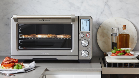 A toaster oven, but make it smart.