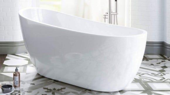 Rub-a-dub-dub, soak in this cheap tub.