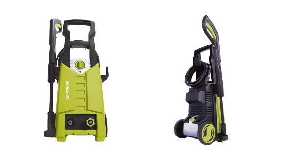 Outdoor cleaning is a cinch with a pressure washer
