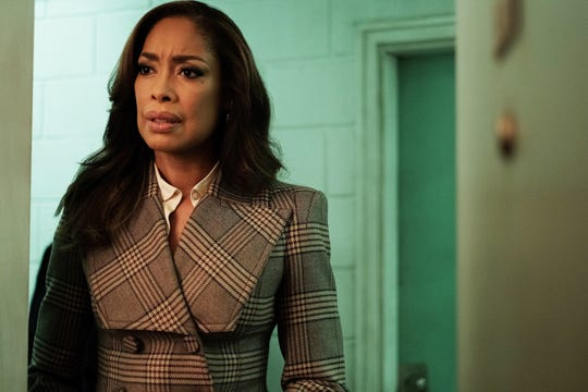 Jessica Pearson (Gina Torres) maintains her elegant fashion style, which fans enjoyed on 'Suits,' in her USA Network spinoff series, 'Pearson.'