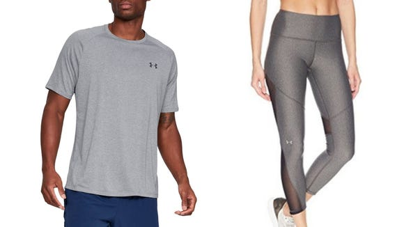 Select Under Armour workout clothes are on Prime Day special