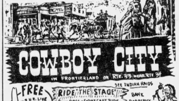 Wild West theme parks once dotted the Jersey Shore