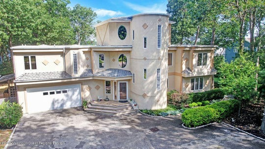 A spectacular riverfront home is at 614 Burtis Drive in Brick.