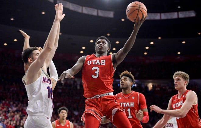 The Utah Utes men's basketball team is facing a two-year probation after recruiting violations last year, according to an NCAA Division I Committee on Infractions.