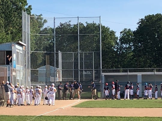 North Howell Little League faces off against Bordentown Little League on July 15, 2019 at Toms River East Little League