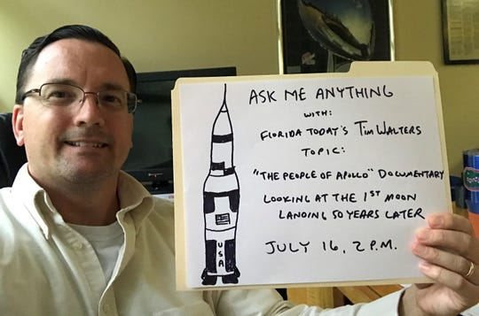 AMA on Reddit at 2 p.m. July 16, looking at the first moon landing 50 years later.