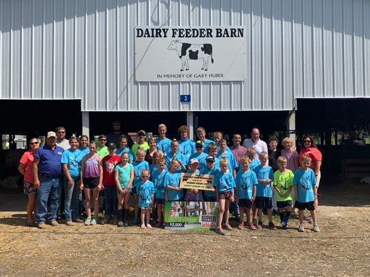 Donations from Worden Farms and Liberty Leaders 4-H made it possible for the senior fair board to remodel the Dairy Beef Barn at the Crawford County Fairgrounds.