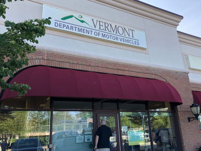 The Vermont Department of Motor Vehicles office on Market Street in South Burlington seen on Tuesday, July 16, 2019.