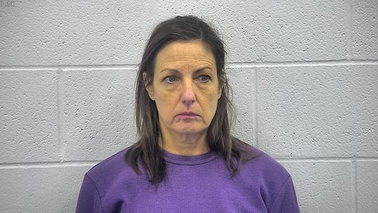 Johnson in a 2018 Kenton County Detention Center arrest photo.