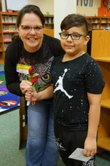 Adrianna Silva, a One to One volunteer, worked with Logan Valenzuela a second grader at Florence Elementary.