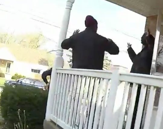 A realtor and his client are sued three Cincinnati police officers and the city after the police handcuffed them during a house viewing.