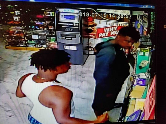 Two possible suspects from a Monday afternoon shooting