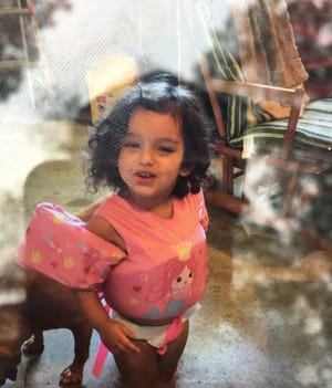 Gabriella Roselynn Vitale disappeared from her campsite on Reber Road.