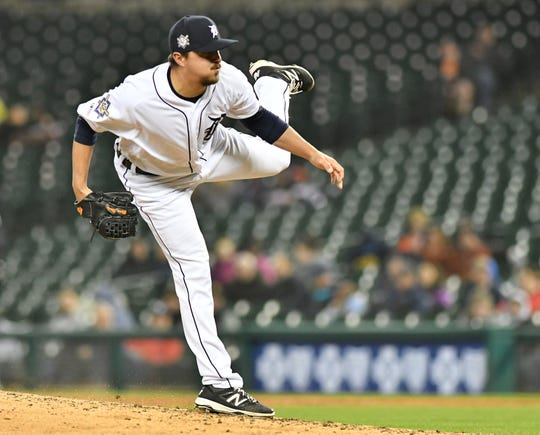 Elbow issues have limited Blaine Hardy's usage and kept him out of the starting rotation this season.