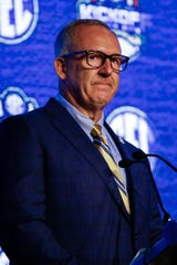 SEC boss Greg Sankey expressed concern about the pressures on athletes from legalized betting.