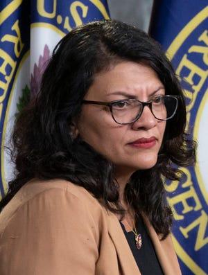 Rep. Rashida Tlaib, D-Mich.