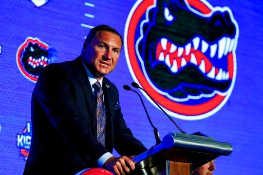 Florida's 10 wins under coach Dan Mullen stirred division title hopes.