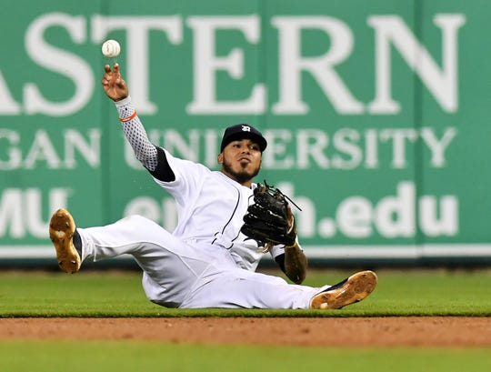 Tigers second baseman Harold Castro
