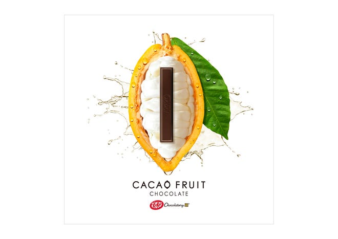 Nestle is using a patented technique to turn the white pulp that covers cocoa beans into a powder that naturally contains sugar.