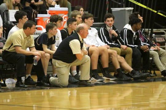 Bill Hopkins coached the Corning Hawks for his final season in 2018-19.