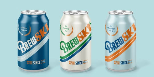 """BrewSKI will be available in three types: A pilsner, a Ski-infused ale and an """"All-American Pale Ale."""""""