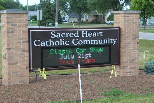 One of the most anticipated events at the 50th annual Sacred Heart Parish Summerfest will be a classic car show Sunday from 1 to 5 p.m. at the Fremont church, located at 550 Smith Rd.