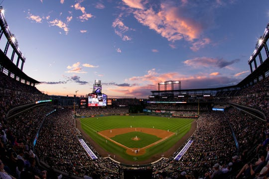 The Colorado Rockies host San Francisco at 1:10 p.m. Wednesday.