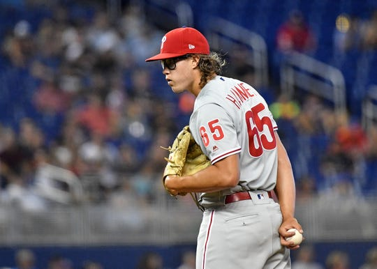 Fort Collins graduate JD Hammer made his MLB debut with the Phillies in May.