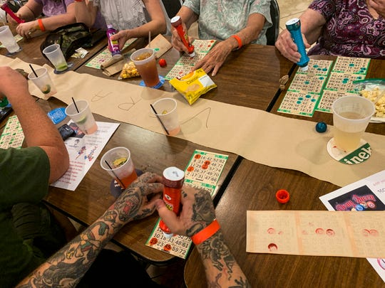Drag queen bingo has become something of a phenomenon in SWFL. ItÕs just like it sounds: Drag queens performing and running a bingo game. Long-running drag queen duo Bootsey Cloverdale and Ladylicious put on a show for the crowd at the Moose Lodge in Cape Coral.