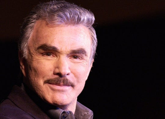 Movie star Burt Reynolds reminisced about his acting career during a sold-out 2002 appearance at Oneida Casino in Ashwaubenon.