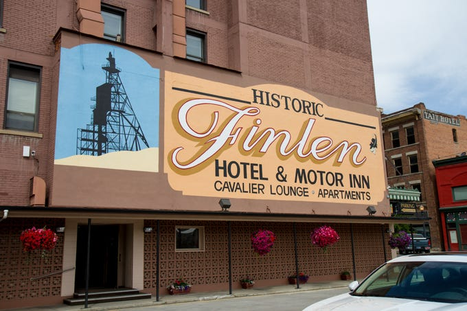 The Finlen Hotel and Motor Inn in Butte