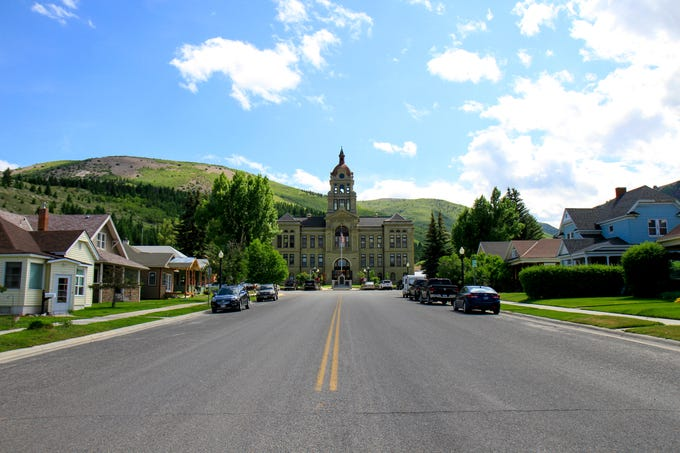 Deer Lodge County Courthouse in Anaconda