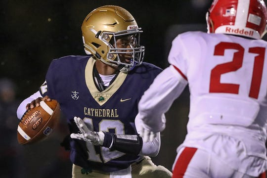 Cathedral QB Orin Edwards