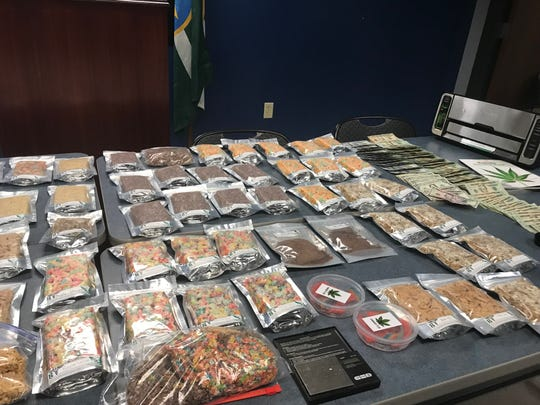 "Jackson police say they have confiscated several baggies filled with marijuana-infused snacks at a ""dispensary party."""