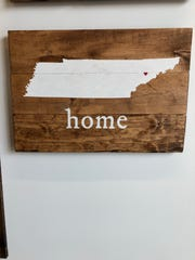 Board & Brush Knoxville opened July 18, 2019, offering workshops where you can make customizable wooden signs.