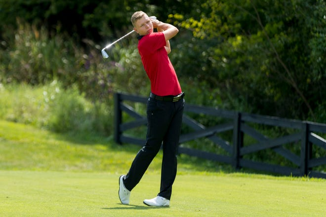 Mathias Schmid missed the cut for the British Open on Friday.