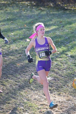 Lexington's Halle Hamilton peaked at the perfect time last season finishing fourth in the state cross country meet and will be a key team member if Lady Lex wants to 3-peat.