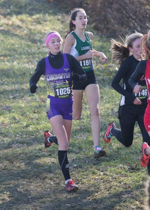 Lexington's Joanna Halfhill return in 2019 to anchor a very deep girls cross country team looking for a third consecutive state team title.