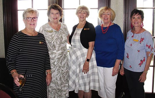 Candy Glaser, Pam Molander, Betty Muskus, Polly Lally and Pat Matthews.