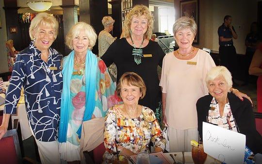 Litha Berger, Susanne Grossman, Cindy Crane, Susan Lamonica, Darol Traeger and Eve Connelly.