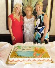 Current president, Rose Kraemer; founder, Bonnie Bozzo and ex-officio, Rachel DeHanas.