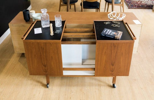 Find mid century modern bar carts and other groovy goods at 20th Century Cincinnati this weekend.