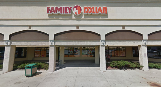 An employee allegedly pulled a gun on a hostile customer on July 1 at this Family Dollar, 6554 W. Brown Deer Road.