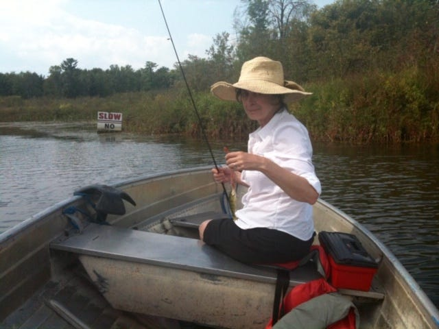 Eileen La Susa, 74, loved to fish. The wife of Wauwatosa alderman and former Milwaukee Journal Sentinel editor Ernst-Ulrich Franzen died July 10 after a long illness.
